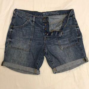 Gap brand 'sexy boyfriend' buttonfly shorts